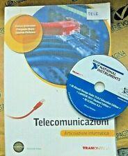 TELECOMUNICAZIONI con DVD ARTICOLAZIONE INFORMATICA - E.AMBROSINI - TRAMONTANA