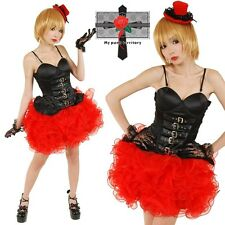 Japan Party Animal Salsa Sweet Spicy Red Swirl Lolita Punk Rock Salsa Skirt Tutu