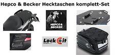 Hecktasche + Sportrack im Set f. Motorrad KTM 690 Duke ab 2012 Hepco & Becker
