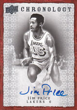 JIM PRICE  07-08 UD Chronology AUTO Lakers