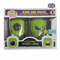 Funko POP The Simpsons Treehouse of Horror Kang and Kodos Glow Figure Kid Toys