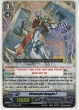 CARDFIGHT!! VANGUARD CHRONOJET DRAGON Z RRR NEW G-BT14/014EN