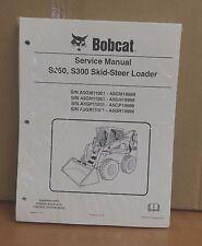 Bobcat S250 S300 Skid Steer Loader Complete Shop Service Manual Repair 6986680
