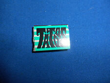 TATOOS MINI BOOK Green 4 Stripes Cover VENDING Gumball Prize Charm Tattoos Tiny