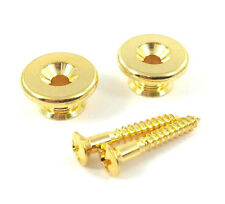 Gotoh Oversized Gold Strap Buttons for Guitar/Bass EP-B3GS