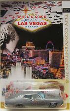 Hot Wheels A MEDIDA '70 Ford Torino 2018 Las Vegas Convención Real Riders 1/25