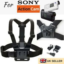 Adjustable Body Chest Strap Harness Mount for SONY HDR FDR Sports Action Camera