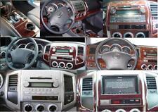 2005 2006 2007 08 INTERIOR WOOD DASH TRIM KIT SET FOR TOYOTA TACOMA 2WD 4WD SR5