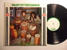 THE CONGOS Heart Of the Congos BLACK ART Lee Perry  LP Roots Reggae HEAR U53