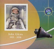 Mali 2017 MNH John Glenn Memorial 1v S/S Space Stamps