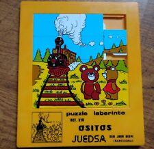 Vintage, big ,sliding puzzel