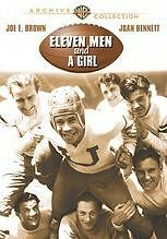 ELEVEN MEN & A GIRL (AKA MAYBE ITS LOVE 1930) Region Free DVD - Sealed