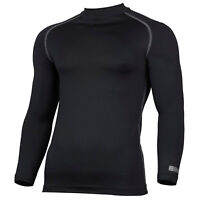 RHINO Base Layer Tops Mens Womens Long Sleeve Compression For Sports Gym Rugby