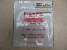 "KEPRO COPPER LAMINATE 6"" x 6"" x .062"" FR-4 1oz PHOTOSENSITIZED KC1-66G 1 side"