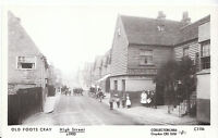 London Postcard - Old Foots Cray High Street, Bexley c1900 - V2257
