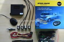 NEW Steelmate Audio Buzzer Reversing Parking Sensors Matt Black Colour PTS400EX