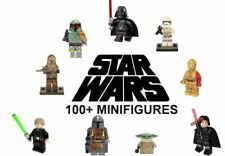 LEGO Star Wars Minifigures Darth Vader Kylo Ren Han Solo Yoda Mandalorian Clone