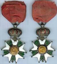 Médaille - Légion d'honneur NAPOLEON III ruban dans la couronne MàE