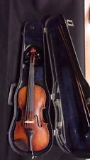 VINTAGE STRADIVARIUS VIOLIN--- HAND MADE IN CZECHOSLOVAKIA - 3/4 SIZE - #2804