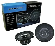 "SUB ZERO 220W 6.5"" COAXIAL 16.5CM 2 WAY CAR DOOR SHELF SPEAKER SPEAKERS & WIRING"
