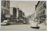 Waterbury Conn East Main Street Postcard K8