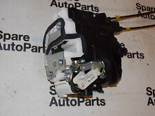2010 LANCER GS2, N/S REAR DOOR LOCK & MOTOR MECHANISM SOLENOID  (PASSENGER S