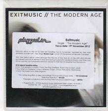 (DQ842) The Modern Age, Exitmusic - 2012 DJ CD