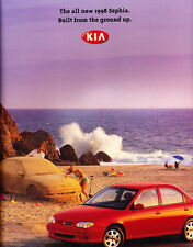 1998 Kia Sephia 22-page Original Car Dealer Sales Brochure Catalog