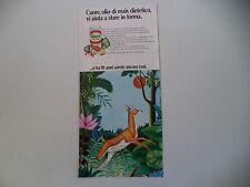 advertising Pubblicità 1971 OLIO CUORE