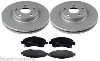 For TOYOTA AVENSIS 2.0i 2.0 D4D 2.4i 03-08 FRONT DISC & BRAKE PAD SET 295mm
