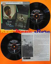 LP 45 7'' ELLA FITZGERALD LOUIS ARMSTRONG I won't dance A fine romance cd mc dvd