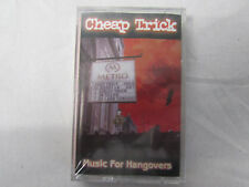 Cheap Trick Music for Hangovers Cassette Tape  New Sealed Hard to Find !!