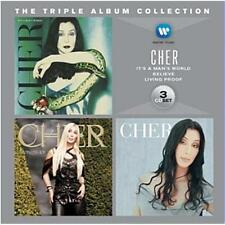 CHER TRIPLE ALBUM COLLECTION 3 CD NEW