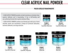 Mia Secret Clear Acrylic Powder 0.25 oz / 0.5 oz / 1 oz / 2 oz / 4 oz / 8 oz