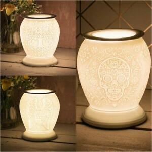 Desire Aroma Ceramic Touch Lamp Tree Design Wax Tart Melt Warmer Oil Burner