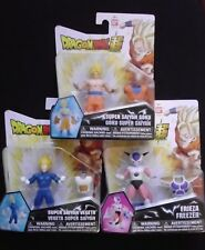 Set of 3 Dragon Ball Super Power Up Figures - Goku - Vegeta - Frieza - NEW