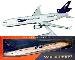 McDonnell Douglas MD-11F WOW Lufthansa Cargo Flugzeug 1:200 Herpa Wings Wooster