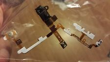 Black Headphone Audio Jack Power Button Volume Flex Cable Part For iPhone 3G 3GS