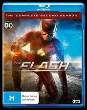 The Flash : Season 2 (Blu-ray, 2016, 4-Disc Set)New, ExRetail Stock (121)
