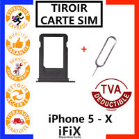 TIROIR + EJECTEUR CARTE SIM IPHONE 5 / 5C / 5S / SE / 6 / 6S / 7 / 8 / X /PLUS