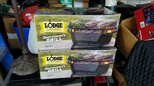 NIB Lodge Cast Iron Sportsman Grill -- Ships Next Day - In Hand Now
