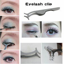 HOT Beauty False Eyelashes Extension Applicator Remover Clip Tweezer Nipper Tool