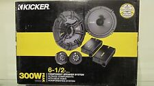 "NEW Kicker 40CSS654 CSS65 6.5"" 6-1/2"" 300w 4-Ohm Car Audio Component Speakers"
