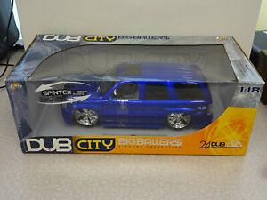 Jada Toys Dub City Big Ballers 1:18 Cadillac Escalade BLUE