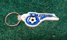 Vintage 1990 BUFFALO BLIZZARD Soccer Team Keychain Key Chain BFLO NPSL