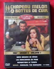 Chapeau Melon & Bottes de Cuir, 1967 - saison 5 - volume 1, DVD