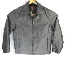 Guess Jacket Silver Shine Mens Medium Zip Up Rare