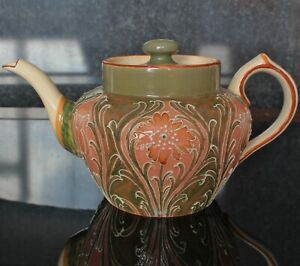 James MacIntyre Florian Ware / Dura Ware Teapot by William Moorcroft
