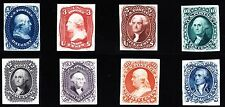 US 55P3//62P3 1860 First Design Plate Proof Set on India Paper VF-XF SCV $4600