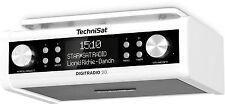 Gloss White TechniSat DigitRadio 20 Kitchen Under Cabinet DAB VHF Radio